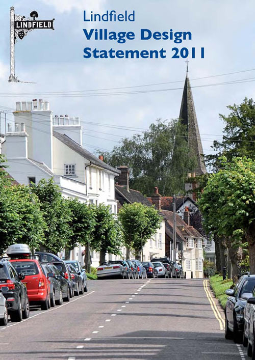 lindfield village design statement cover.